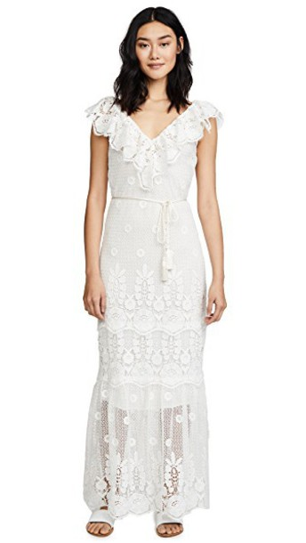 Miguelina dress white