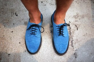brogues shoes mens shoes mad men blue shoes summer outfits