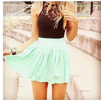 shirt clothes mint skirt lace black whole oufit dress skirt separate skater green mint sleeveless sleeveless dress mint green skirt high neck summer dress summer outfits cute dress teal ?? neeed this cyan #skater black cutout short black lace cutout the same exact as the picture bracelets t-shirt top black crop top pretty blue beautiful violetta cute skirt blue teenagers outfit fashion style lace top black light blue black and turquoise knee length teal dress black dress flowy dress cute high waisted skirt black top mint dress gold chain skater dress skater skirt girl girly zaful summer love cute dreess blac white floral flowers indie boho bohemian boho dress grunge vintage hipster tumblr mint and black dress blue dress classy dress turquoise summerdresses mint and black lace dress turquoise dress halter top dress blue skirt green skirt sky blue helps!!!! tank top and skirt bodysuit mesh insert lace inserts simmer dress the mint green skirt and the black lace crop top