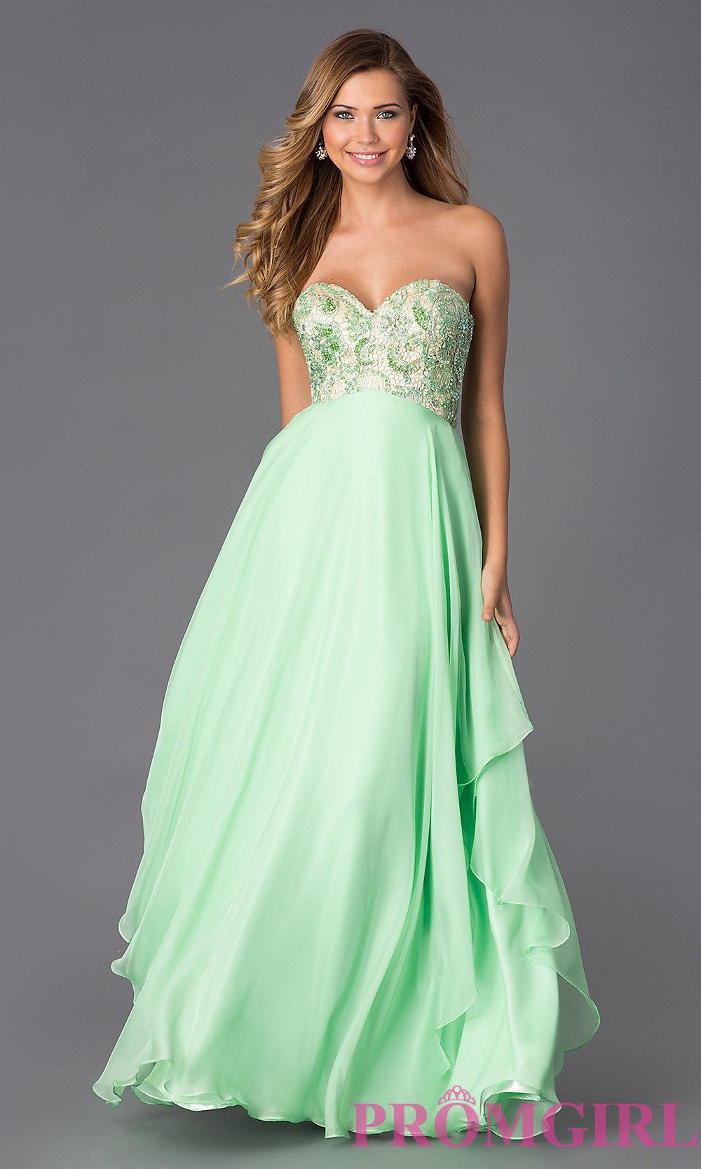 Empire waist prom dress by alyce paris al