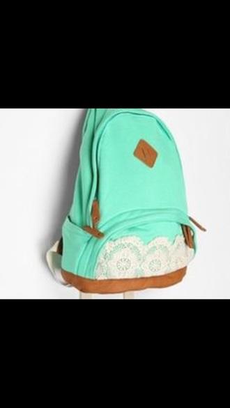 bag mint back to school school bag