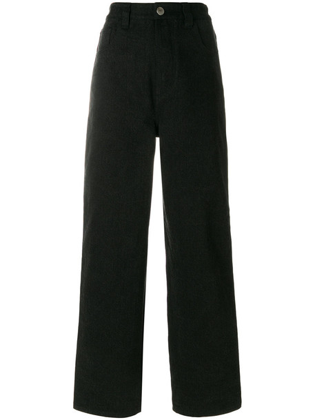 Koché jeans women cotton black