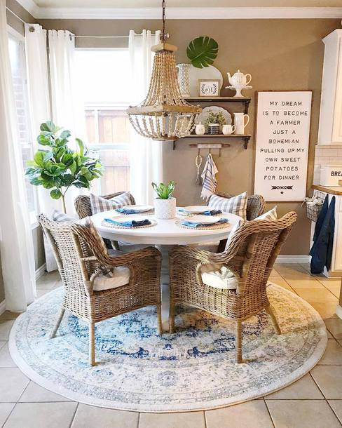 home accessory tumblr home decor furniture home furniture dining room table chair rug