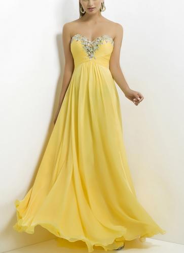 Prom Beaded Sweetheart Dress - Juicy Wardrobe
