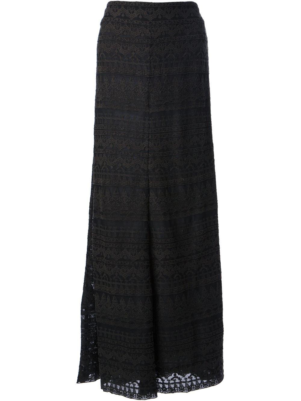 Isabel Marant 'tory' Jacquard Skirt - Gente Roma - Farfetch.com