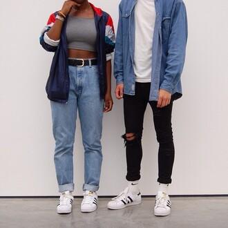 jacket retro 90s style