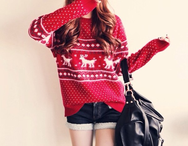sweater christmas winter outfits