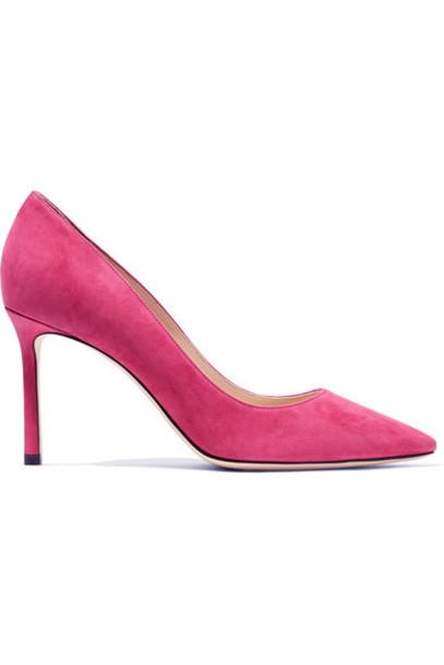 Jimmy Choo suede pumps pumps suede pink shoes