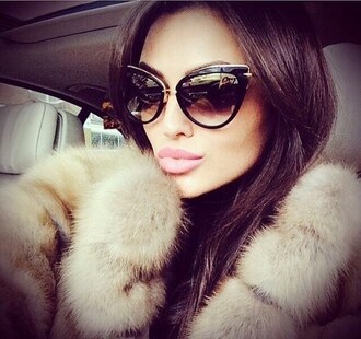 sunglasses fur