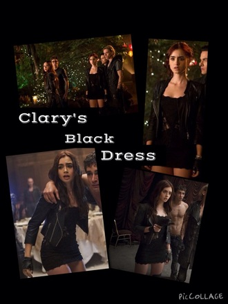 dress black dress lace dress black little black dress lily collins lace cute sexy dress the mortal instruments short dress style sexy