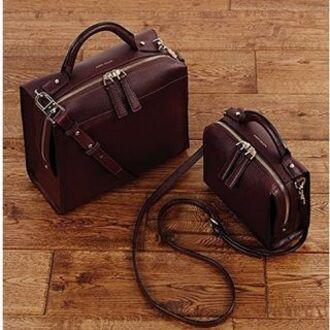 bag karen millen leather bag brown leather bag satchel bag travel bag mens messenger bag
