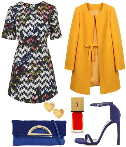jewels earrings blogger bag clutch skinny hipster yves saint laurent mustard heart high heels