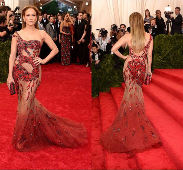 Jennifer Lopez Red Carpet Dress - Shop for Jennifer Lopez Red ...