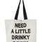 Designer beach bag - need a little drinky drink