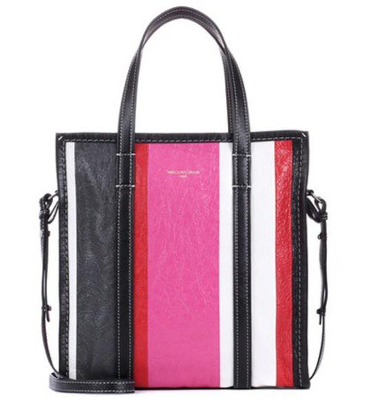 Balenciaga leather pink bag