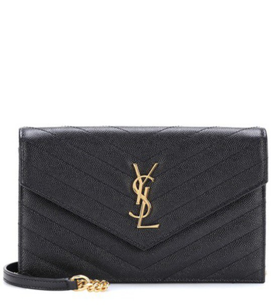 Saint Laurent classic quilted bag shoulder bag leather black