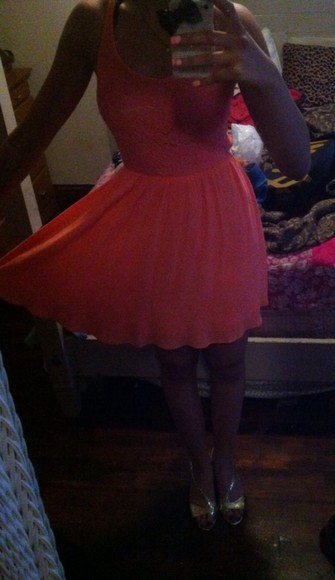 coral prom dress coral dress pink pink dress graduation dresses little heels gold bows iphone case