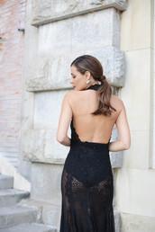 dress,tumblr,see through,see through dress,black lace dress,lace dress,sexy dress,black sexy dress,open back,open back dresses,backless,backless dress,halter dress,halter neck