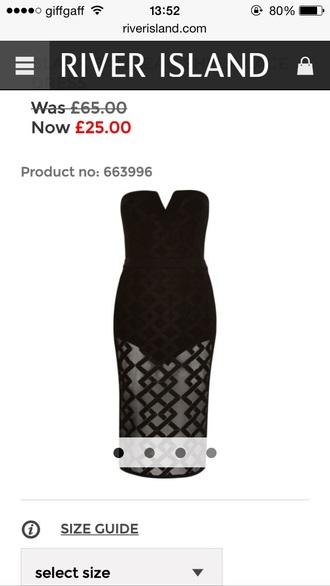 dress black dress lace dress formal dress evening dress river island