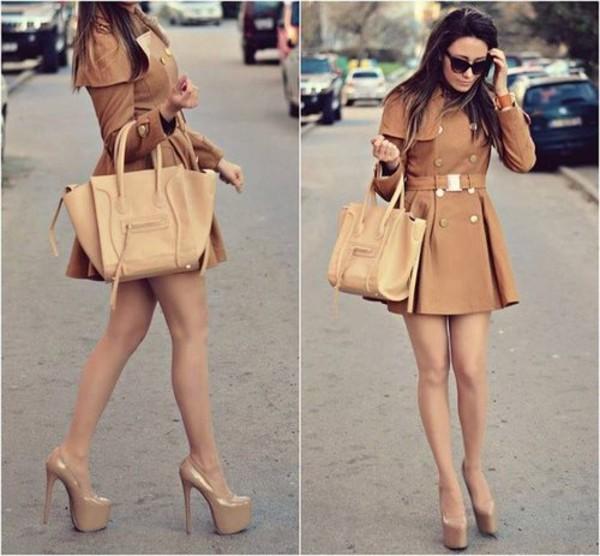 coat bag shoes