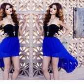 skirt,blue,dress