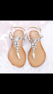 shoes,glitter,sandalen,fashion,style,sandals,summer,jewels,love