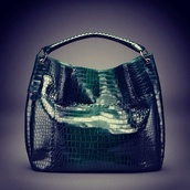 bag,dark green,patent leather,purse
