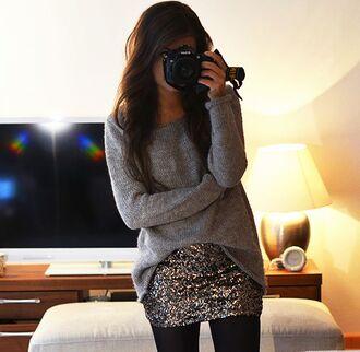 Sparkle Mini Skirt - Shop for Sparkle Mini Skirt on Wheretoget