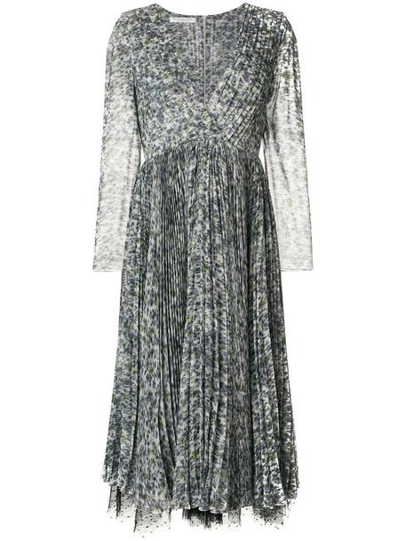 dress women lace white silk