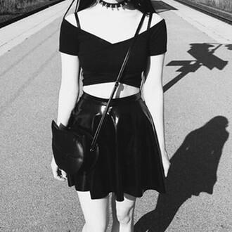 bag cat bag cats black black bag cat purse goth alternative