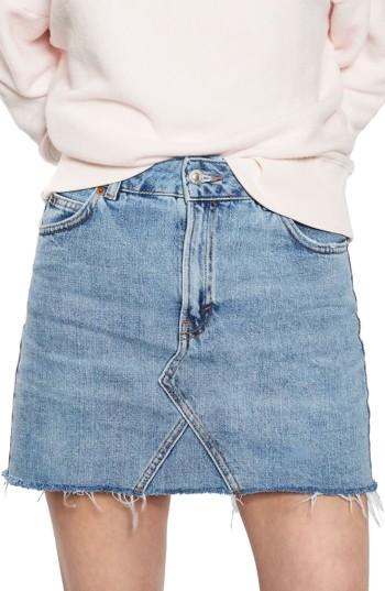 Topshop Denim Miniskirt | Nordstrom