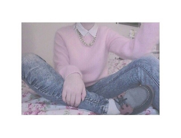 sweater pastel pastel grunge pastel goth grey kawaii jeans shoes fluffy cool 90s style goth