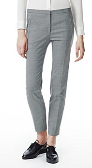 Women's Pant - Fia Reedly Melange Pant - Theory.com