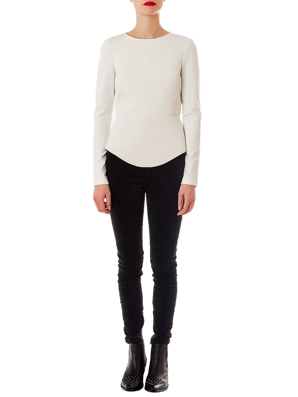 HONG KONG WHITE TOP | GIRISSIMA.COM - Collectible fashion to love and to last