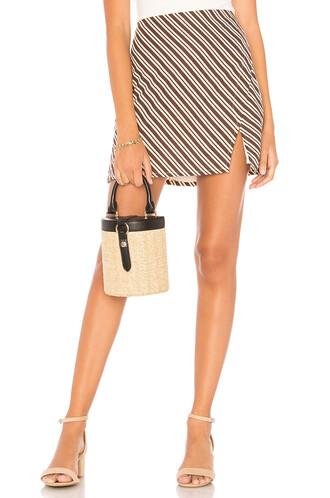 skirt mini skirt mini brown