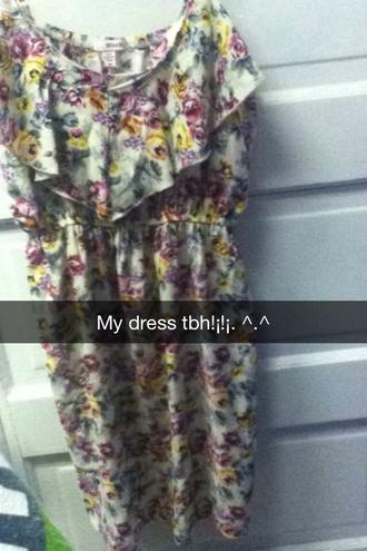 dress bongo floral dress