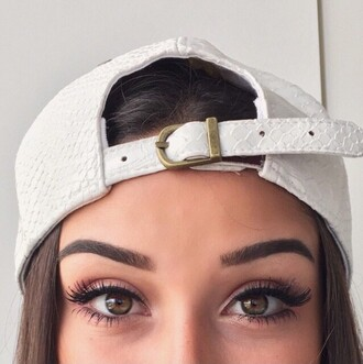 hat snapback white cap hair accessory snake cute dope fashion fashionista snake skin baseball cap croco leather women faux crocodile skin fashion toast fashion vibe fashion is a playground tumblr