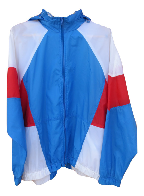 b55cb41bd60c Vintage Nike light Jacket windbreaker USA olympic Colorway XL Red ...