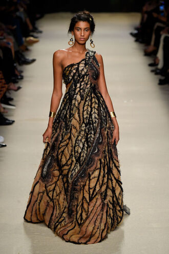 dress gown prom dress fashion week