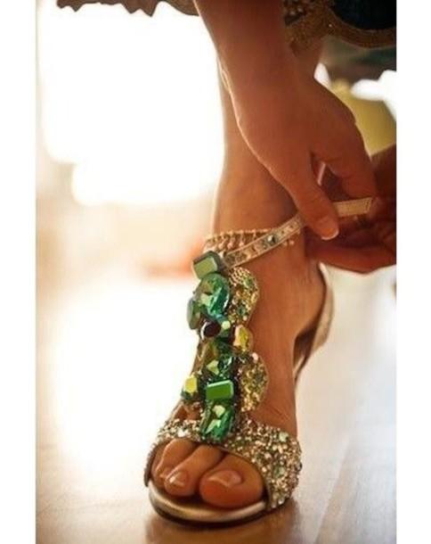 shoes emerald green heels wedding high-heels