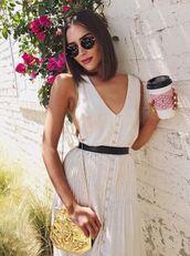dress,olivia culpo,instagram,coachella,coachella outfit,belt