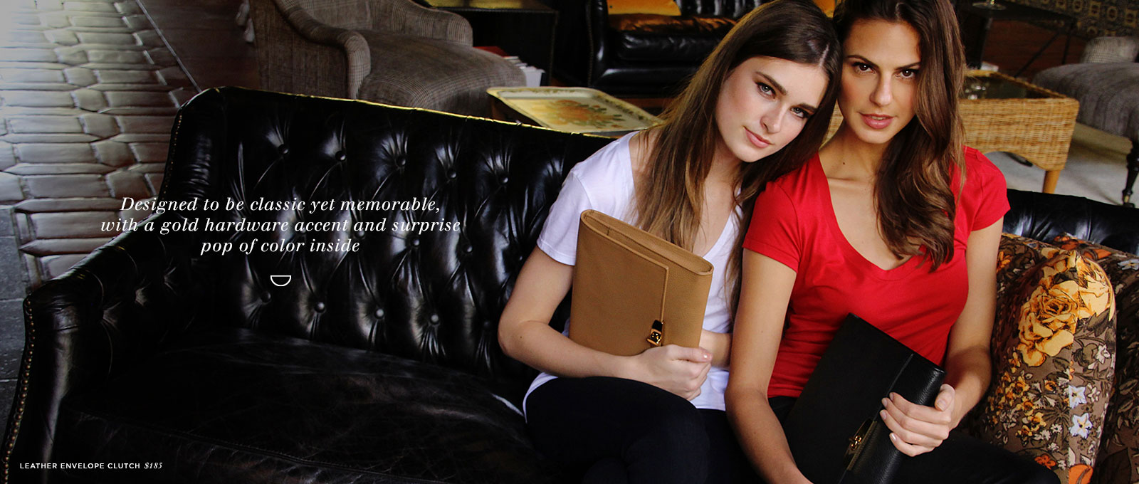 100% Argentine Leather Envelope Clutch and iPad Case | Cuyana Shop