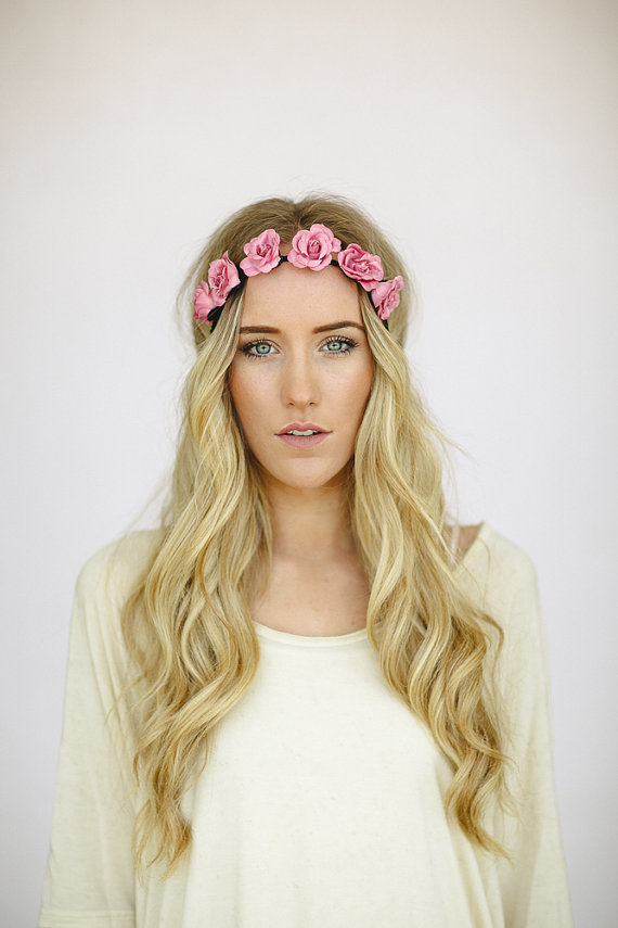 Flower Headband, - ShopStyle
