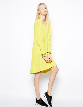 State of Being | State of Being Slub Knit Square Sweater Dress at ASOS