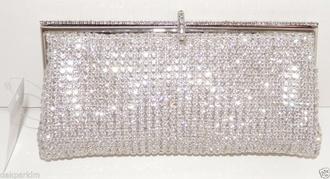 bag prom wedding diamonds clutch crystal stones jewelery