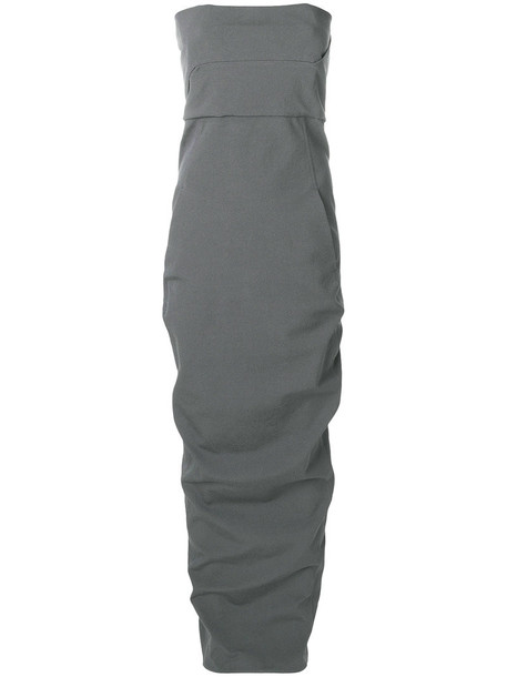 dress bustier dress women spandex cotton grey