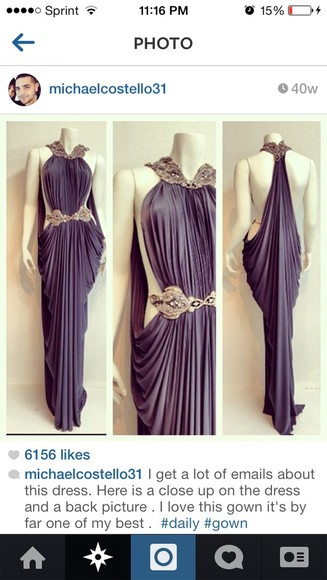 open back dress prom dress chiffon dress