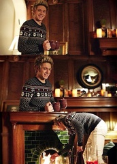 sweater,one direction,niall horan,christmas sweater,mens sweater,mens cable knit jumper