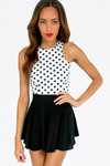 Circle Circle Dot Dot Crop Top - TOBI