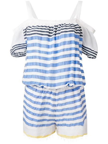 Lemlem striped playsuit - Blue
